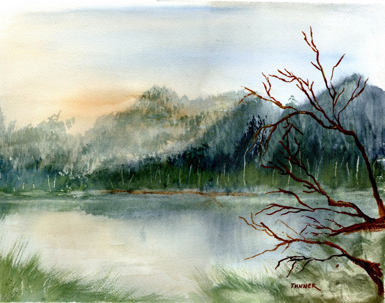 Original Art Watercolor Painting - 542.8KB