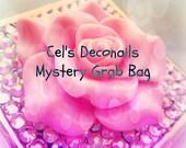 Cel's Deconails kawaii grab bag, small size, Christmas gift, teen girl jewelry