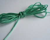 Teal and Silver Cord