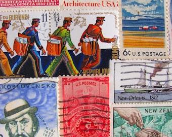 Industrial Revolution 50 19th Century 1800s Postage Stamps British Victorian Regency Manifest Destiny Steampunk US Worldwide Philately