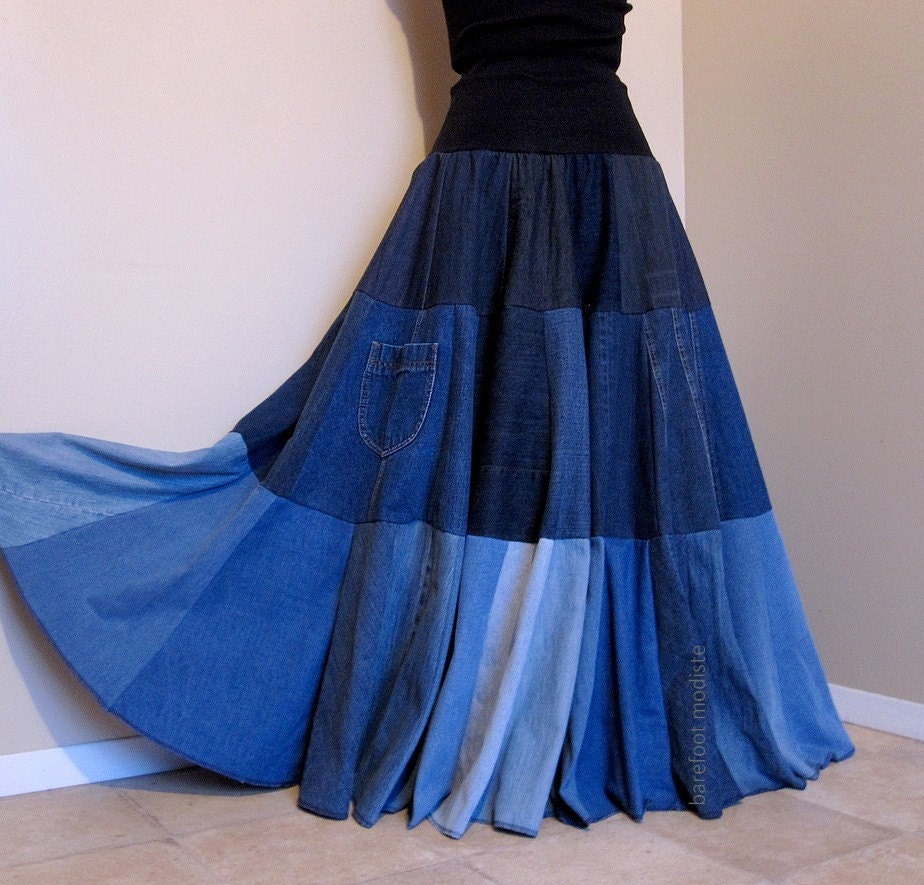 Diy Denim Skirt 18