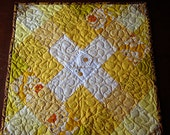 Hope Embroidered Quilted Table Topper - FREE shipping