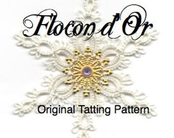 Flocon d'Or -  TATTING PATTERN