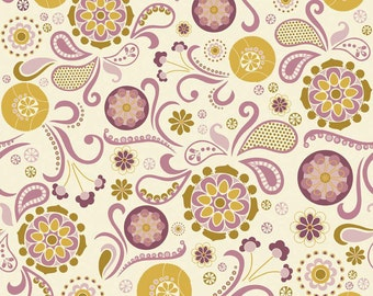 So Sophie Cream Main by My Mind's Eye for Riley Blake, 1/2 yard