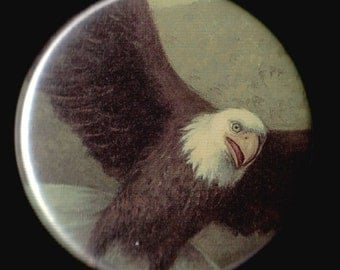 Eagle In Flight Button