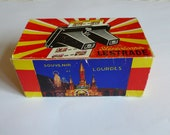 Stereoscope by Lestrade with cards of scenes of Lourdes, France - 1971