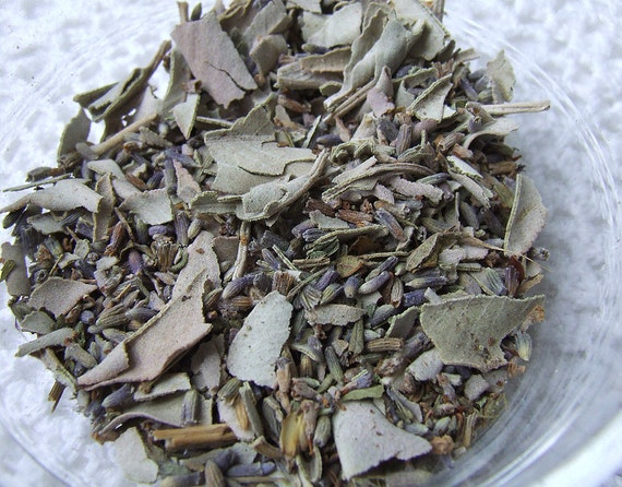 Ceremonial Sage and Lavender Loose Incense Smudging Blend