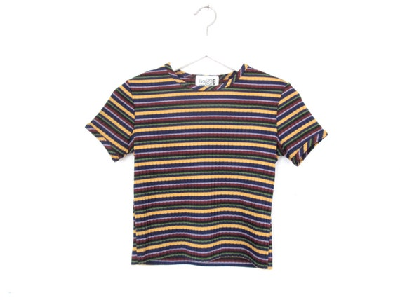 90's Striped crop top size - S