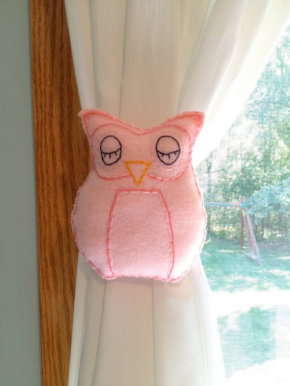 Owl Curtain Tie Backs Creative Ideas Curtain Tie Ba