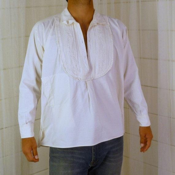 Muslin Prairie Shirt Vintage Size Mens Medium Womens Large