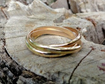 Gold Filled Rolling Ring