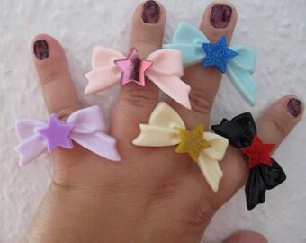 Sailor Moon - Sailor SCOUT RINGS - Sailor Saturn, Chibi Moon, Sailor Mercury, Sailor Venus & Sailor Mars - COSPLAY Rings