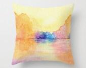 Decorative Pillow Cover - Autumn Reflections - Throw Pillow Cushion - Fine Art Home Decor