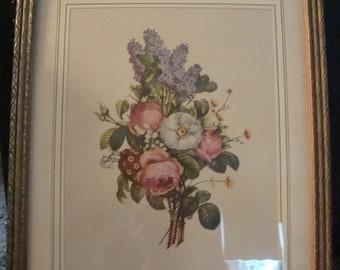 T. L. Prevost print - flowers