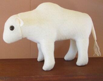 Plush Charolais Bull