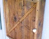 MEDICINE CABINET - w/FREE SHiPPiNG! - Country Primitive - Cabinetry! - Great Price! - Bath / Kitchen / AnyWhere / Ol'Wood Cedar Wall Cabinet
