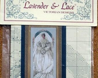Lavender & Lace - White Lace - Cross Stitch Chart 40