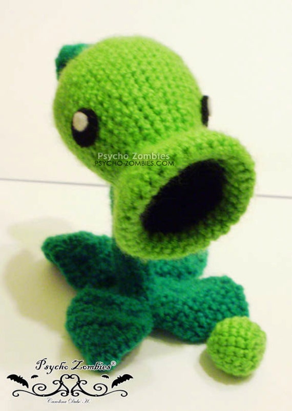 Crochet Plants Vs Zombies Patterns : Unavailable Listing on Etsy