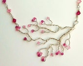 Twisted Silver Cherry Blossom Tree
