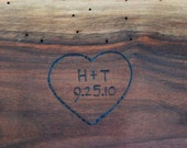 Engraving for Footed Plattes Cutting Boards Serving Trays