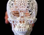 Skull Sculpture Crania Anatomica Filigre (medium)