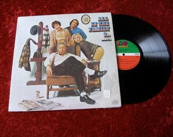 All In The Family Vintage Vinyl lp Atlantic 1971-1972 Seventies Lp