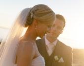 Crystal Hair Comb, Bridal Haircomb, Vintage Wedding Hair Clip, Crystal Bridal Comb, ROSE S