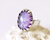 Royal Crown Ring - Purple