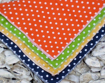 Polka Dot Pocket Square, Wedding Pocket Square, Wedding Gifts, Groomsmen Gifts, Wedding Accessories, Wedding Favor
