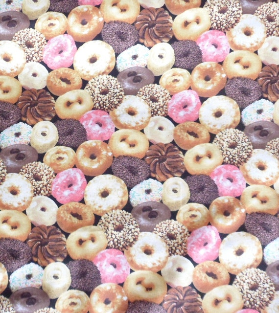 Cotton Fabric, Donuts, RJR