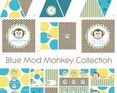 Monkey Birthday Party, Monkey Baby Shower, Monkey Birthday Decorations, Monkey Baby Shower Decorations, Monkey Party Decorations BeeAndDaisy