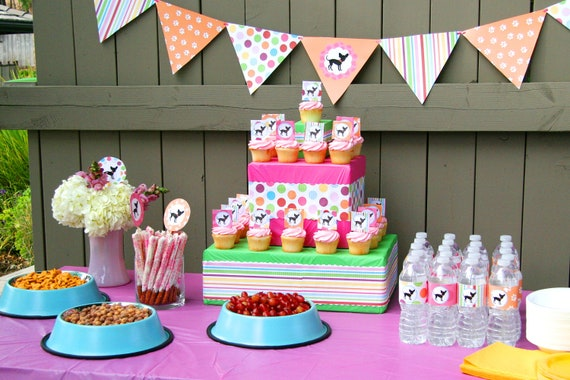 Baby party decorations party favors ideas for Baby birthday decoration photos