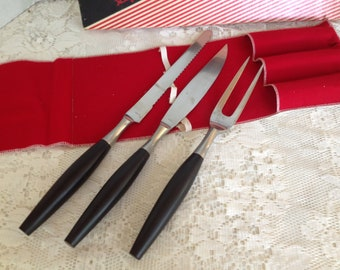 Knife Fork Stainless Steel Carving Set by Everbrite