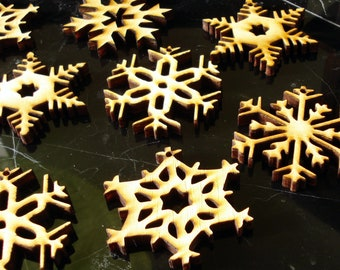 Snowflake Ornaments set of 10