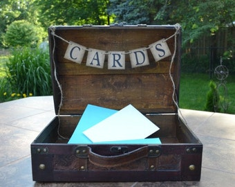 Cards Banner  ...   Suitcase decoration  ....   Reception