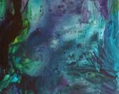 ORIGINAL Painting Spanish Project Submerged