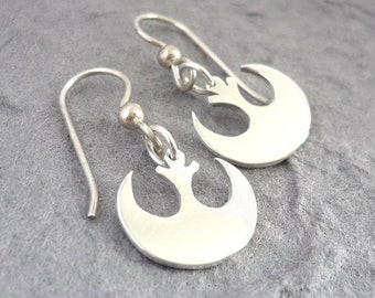Sterling Silver Rebel Handmade Earrings