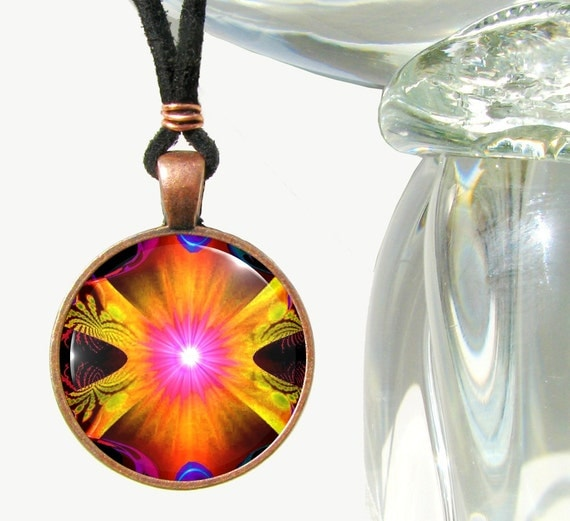 Chakra Jewelry Kundalini Energy Art Reiki Necklace Yoga Jewelry