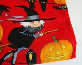 Alexander Henry Witches Fabric Halloween Cute OOP