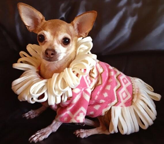 Big Dog Wearing Sweater DOG CLOTHES PAT...