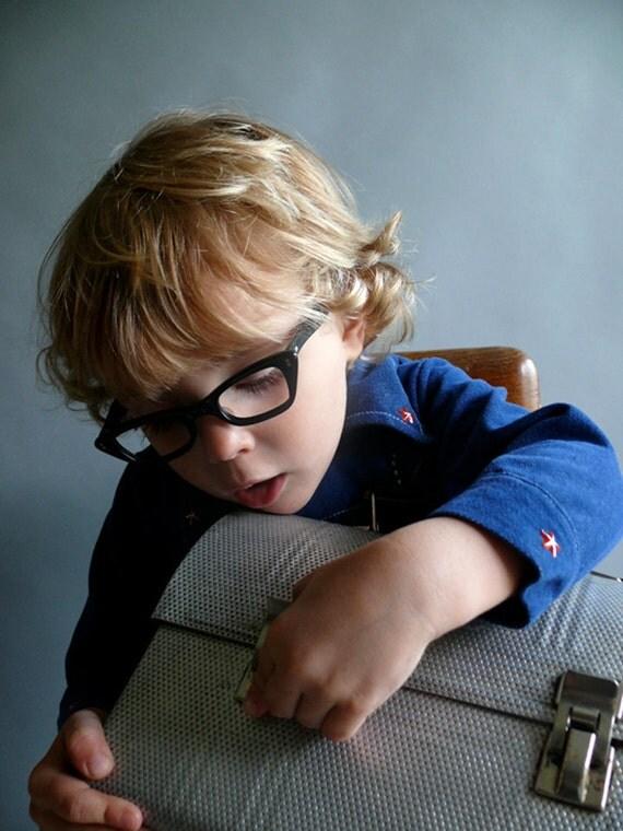 1950's new old stock kids eyeglasses / 50's child's glasses / Bookstore Baby