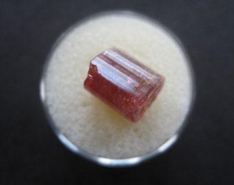 Pink tourmaline crystal- October birthstone