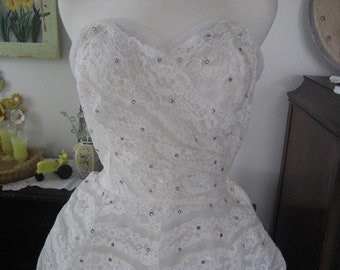 1950 Wedding Dress