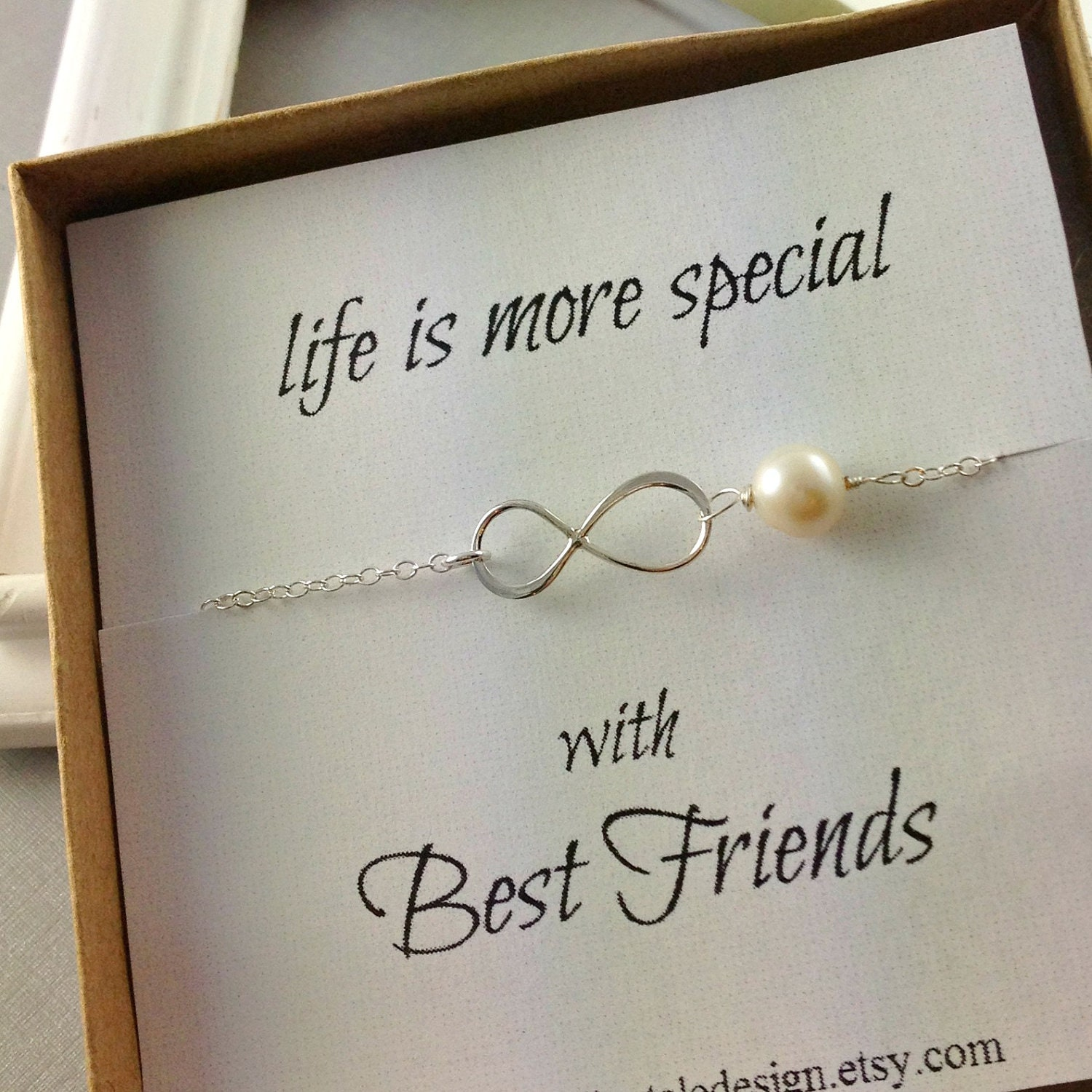 Infinity Bracelet Best Friend Gift Infinity By