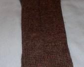 Alpaca Light Weight Summer Socks -Women's Brown
