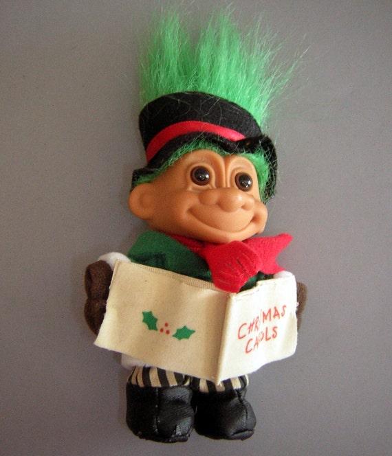 Vintage 70s RUSS Troll Doll Christmas Caroler 8 By FashionPuss
