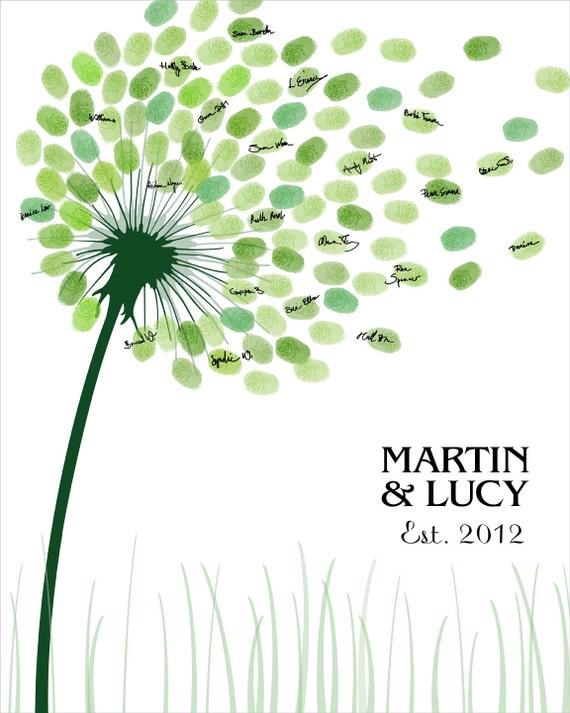 Wedding Guest Book Personalized Wedding By CustombyBernolli