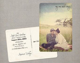 "Save the Date Postcard - the ""Marissa 2"""