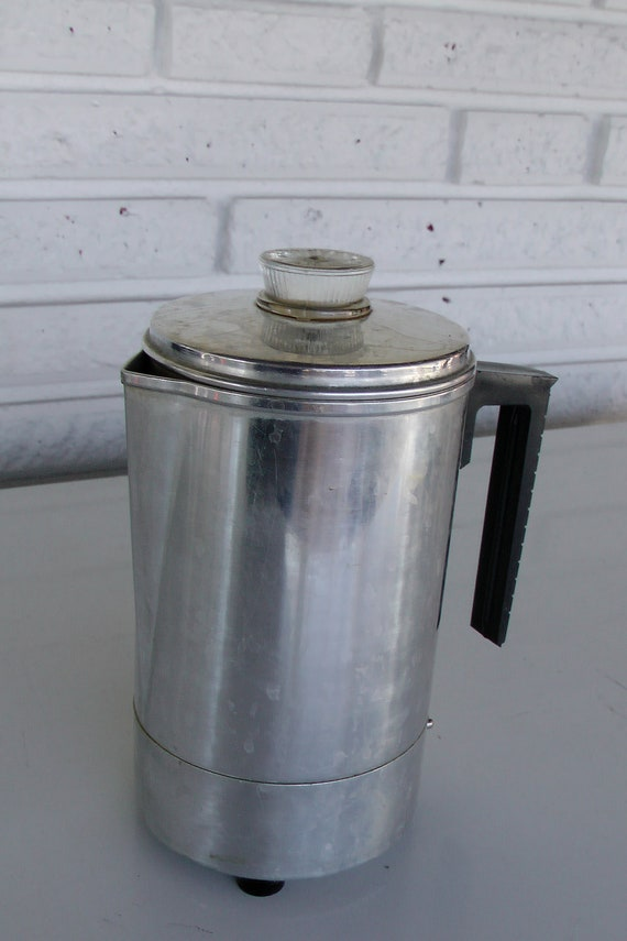 Vintage Electric Percolator Coffee Maker by Nivriks on Etsy