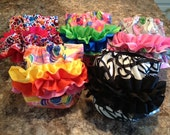 Snap-on Ruffles for cloth diapers - This listing is an add-on to a diaper order